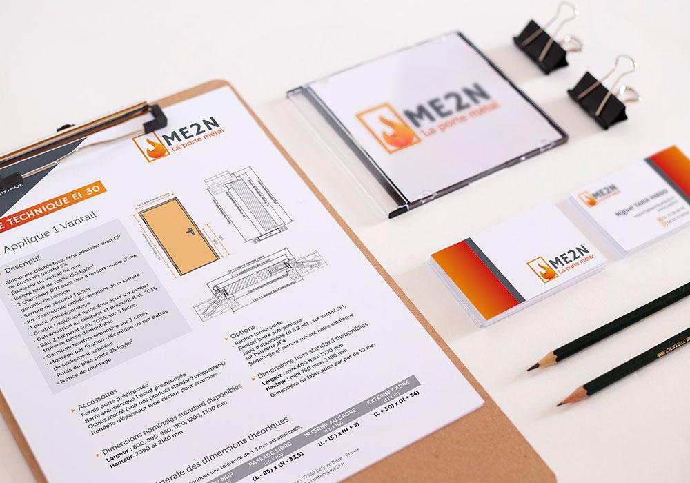 ME2N, charte graphique logo