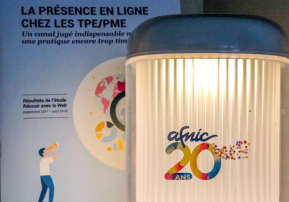 Lampe goodies Afnic 20 ans