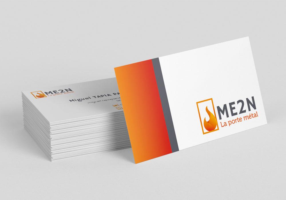 Cartes de visites ME2N